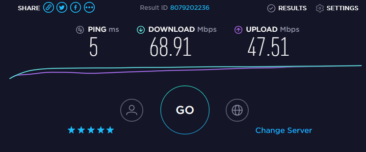 Check Download and Upload Speed - 3