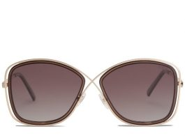 Queen Gradient Brown Sunglasses
