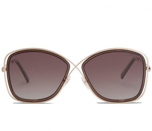 Queen Gradient Brown Sunglasses