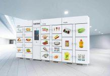 Frozen locker