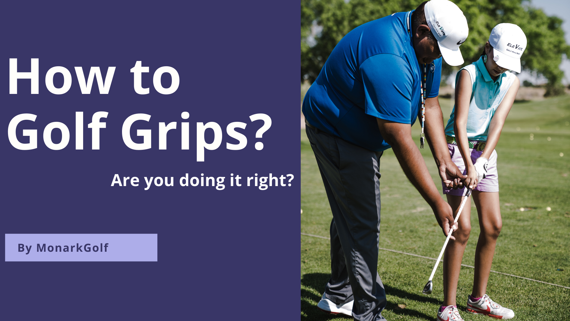 How to Golf Grips
