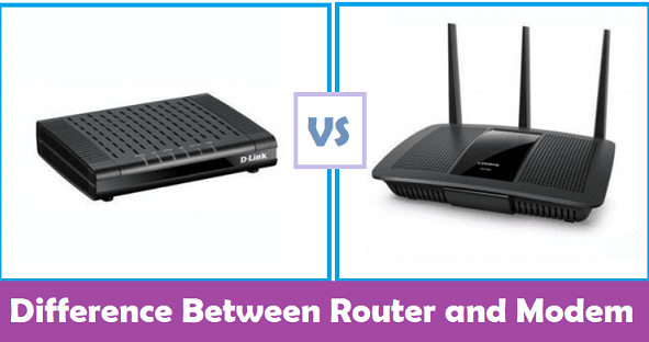 What's The Difference Between Modem And Router