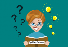 spelling quizzes