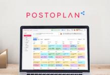 Postoplan social media marketing app