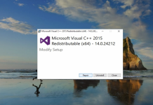 What is the Visual C++ Redistributable?